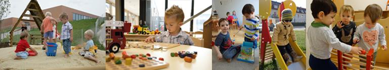 Kinderbetreuung bei Fronius